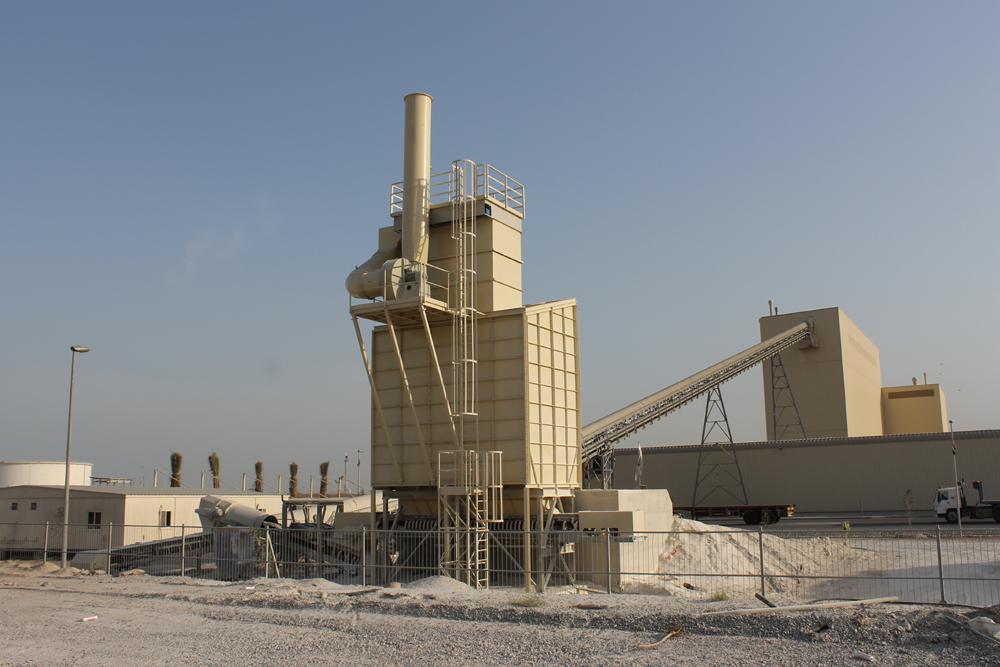 مصانع التخلص من الأتربة والغبار مزودة بفلاتر ملحق بها كيس